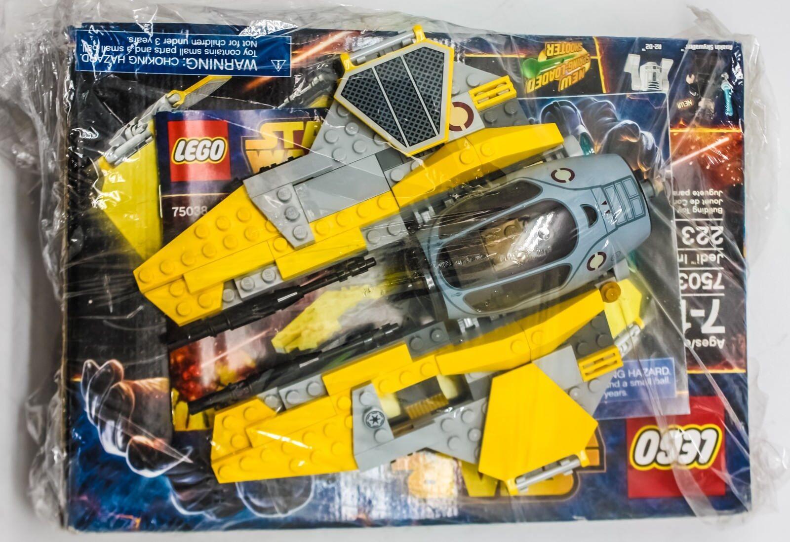 Lego Star Wars Jedi Interceptor (75038) La venganza de los Sith episodio 3 Build Juguete