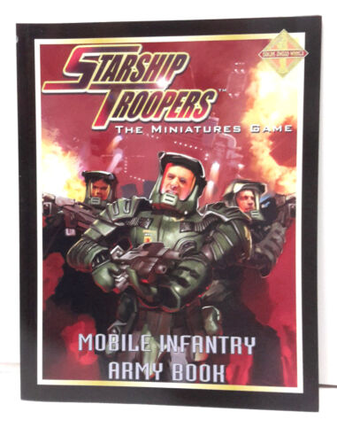 UNREAD STARSHIP TROOPERS Miniatures Mobile Infantry Army RPG Book