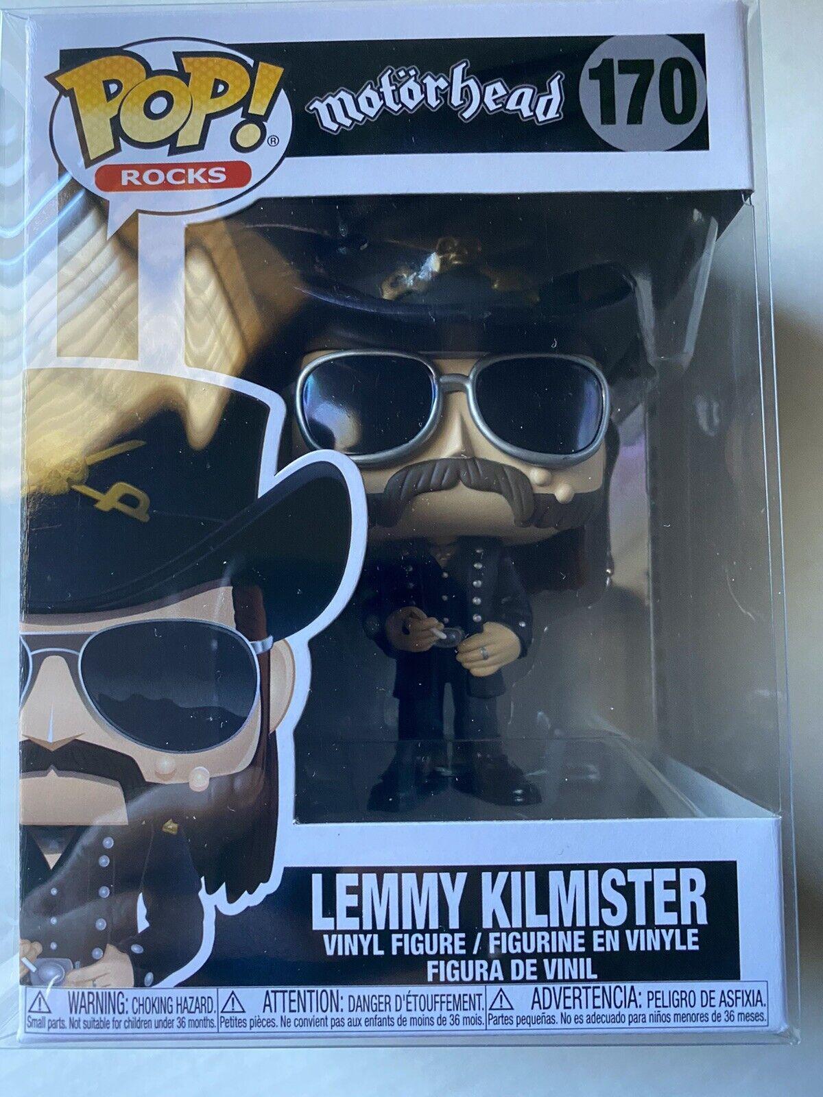 LEMMY KILMISTER 170 VINYL IN HAND ROCKS MOTORHEAD FUNKO POP
