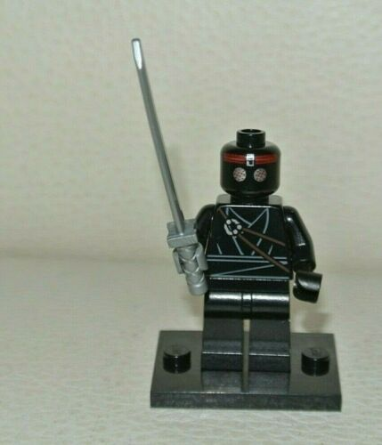 Foot Soldier Minifig figurine personnage set 79101 tnt011 LEGO tortue ninja