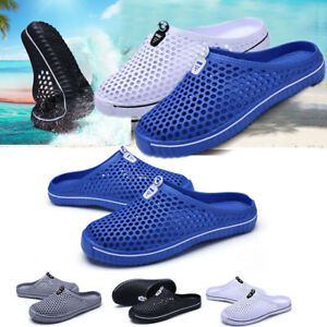 8c358d7000d9c New Summer Men s Breathable Slippers Hollow-out Beach Sandals ...