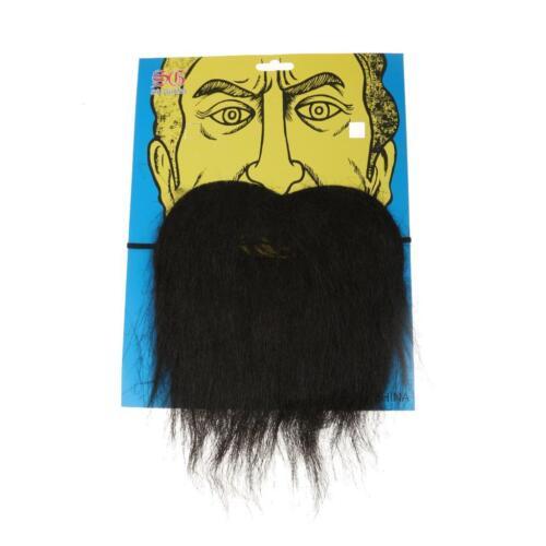 Party Beard Moustache Costume Fancy Dress Mustache Halloween Fake Facial Hair