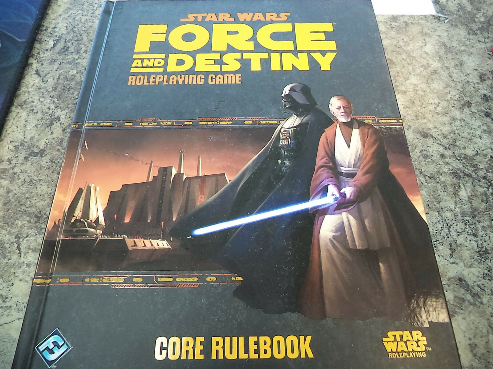 Star Wars Roleplaying Force and Destiny Core Rulebook RPG Game Book Nuovo