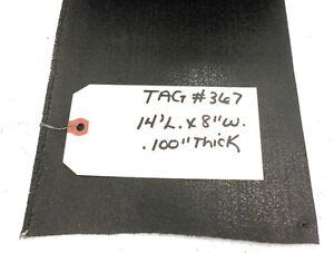"UNKNOWN BRAND CONVEYOR BELT 14' x 8"", POLYESTER BLACK PVC MATTE COVER"