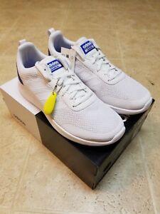 Details about NWT Adidas DB1457 Men's Element Race White Sneakers Shoes Sz 9.5