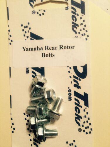YZ YZF Yamaha Rear Rotor Bolts 1 Set OEM