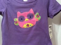 Fisher Price. Girls Outfit. Purple Shirt With A Pink Owl. Skort Is Pink 2t