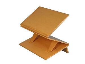 Details About Sit Stand Podium Adjustable Writing Slope Wood Slant Board