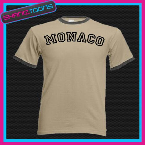 MONACO RINGER RETRO FUNNY TSHIRT