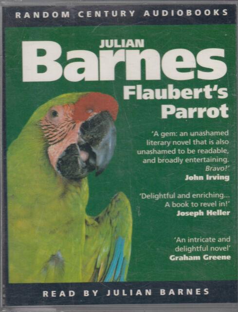 Julian Barnes Flaubert's Parrot 2 Cassette Audio Book FASTPOST