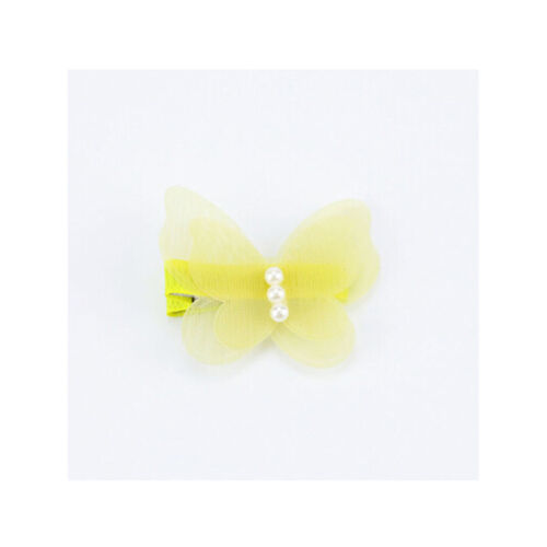 2Pcs Baby Kids Chiffon Butterfly Princess Hair Pin Headwear Hair Clips gvRTUKZSH
