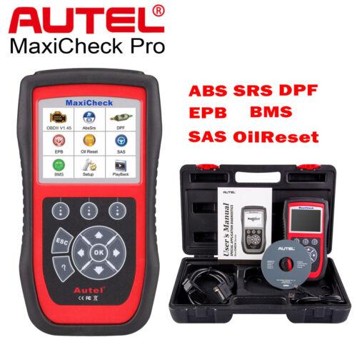 Autel MaxiCheck Pro OBD2 Auto Diagnostic Tool Code Scanner EPB ABS SRS SAS DPF