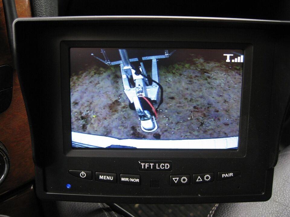 """Trailer Kamerasæt 5"""" Digi 7000 trådløst m 1 kam, lastevne"""