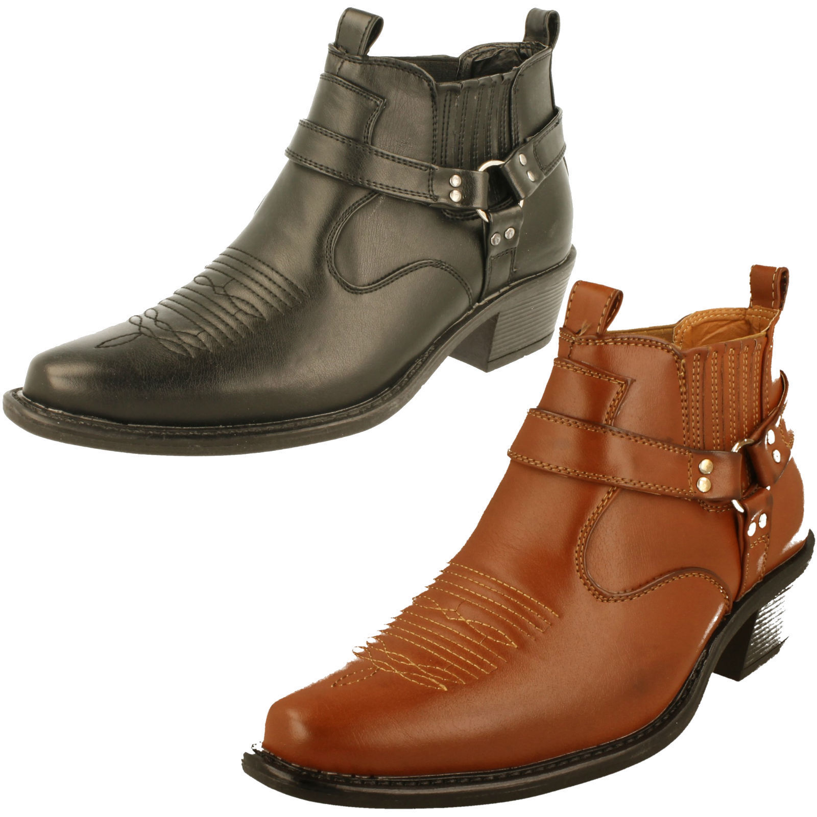 Mens Classique Ankle Boot - MBO-3136