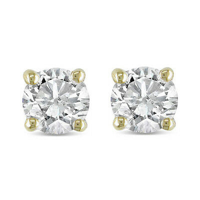 1/4ct Diamond Studs 14K Yellow Gold