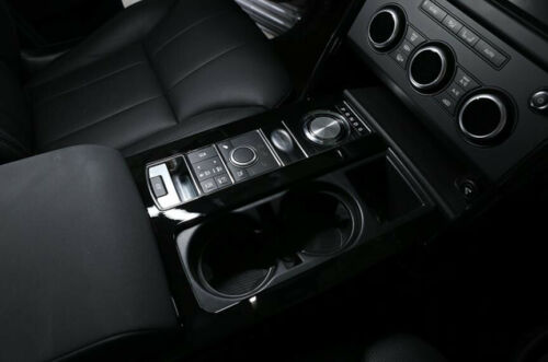 For Land Rover Discovery 5 2017-2019 Black Inner Gear Shift Box Panel Cover trim