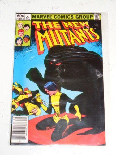 NEW MUTANTS #3 MARVEL COMICS X-MEN MAY NM IST APP DEMON BEAR 1983
