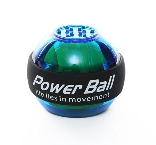Wrist Ball Rainbow LED Muscle Trainer Arm Exerciser Relax Gyroscope PowerBall
