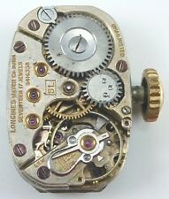 Vintage Longines 5L  Wristwatch Movement -  Parts / Repair