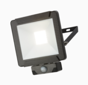 Knightsbridge seguridad IP44 30W LED del sensor de movimiento PIR Foco de pared de luz 300w
