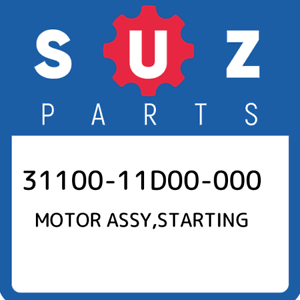 31100-11D00-000-Suzuki-Motor-assy-starting-3110011D00000-New-Genuine-OEM-Part