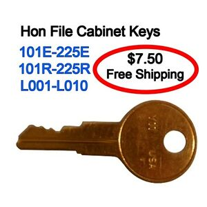hon replacement keys hon file cabinet 150r 200r ebay 16593