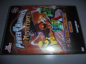 DVD-N-2-Power-Rangers-Mystic-Force-el-Voz-Misteriosa-Volumen-2