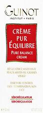 Guinot Pure Balance Cream Creme Oily Skin 50ml(1.7oz) Brand New