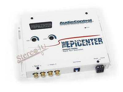 AudioControl The Epicenter White Car Audio Bass restoration Digital Equalizer