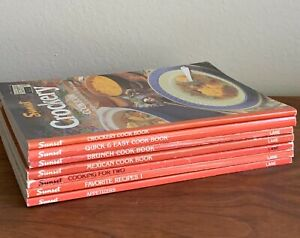Vtg-Sunset-Cook-Books-1982-92-Crockery-Brunch-Favorite-Recipes-Appetizers-Lot-7
