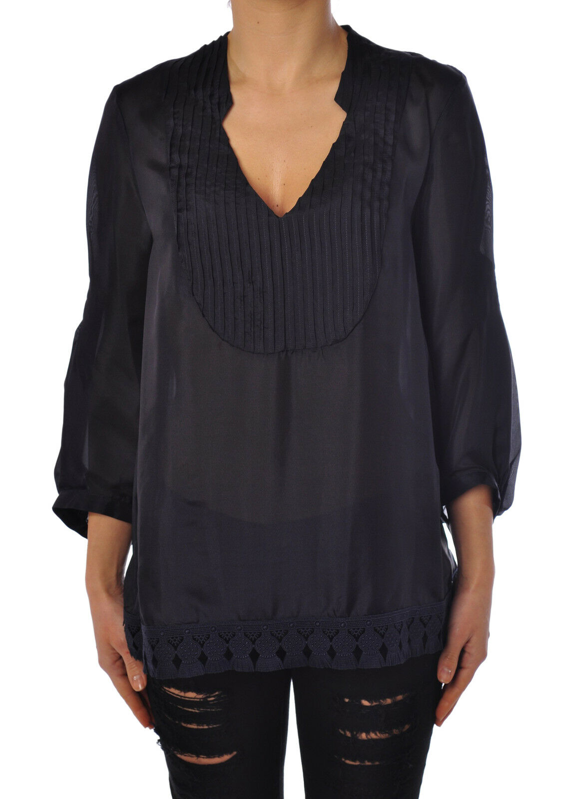 Dondup-Camisa-Mujer  - 42-Azul - 1711914c165806  gran descuento