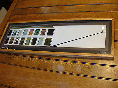 Delicious Galleries C And D By Michael James 1974 Signed And Framed Art