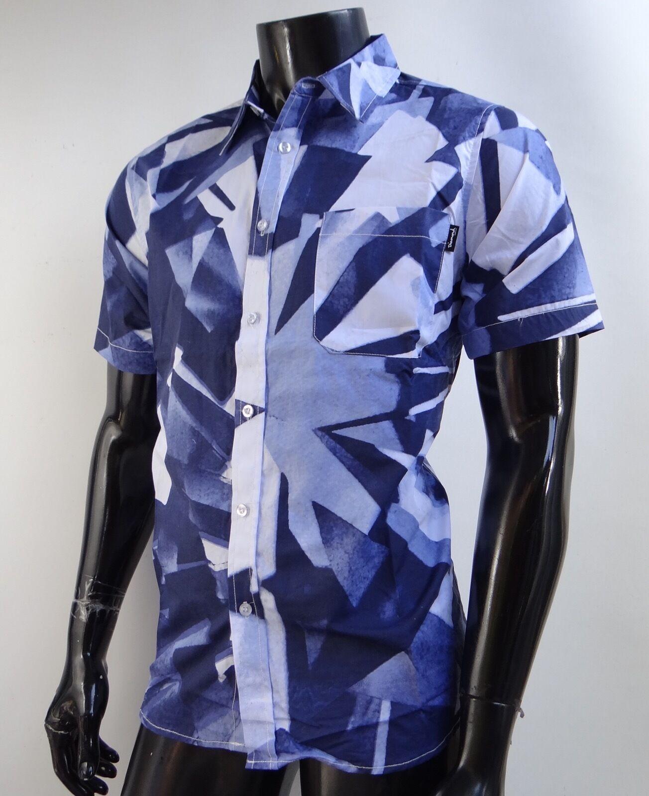 Diamons Supply co. Simplicity Woven Crew S S Shirt Mens Size Medium