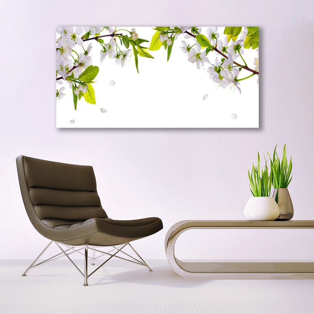 Print on Glass Wall art 140x70 Picture Image Petals Nature Nature Nature 37f784