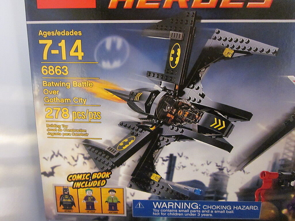Lego Over 6863 DC Batwing Battle Over Lego Gotham City On Hand c3e805