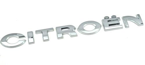 Genuino Nuevo Citroen insignia emblema de la puerta trasera para Cuadro Berlingo 2008-2013 van MPV