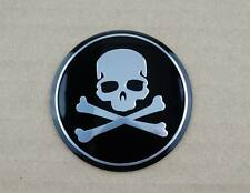 Skull Skeleton Fuel Tank Fairing Decal Sticker Round Badge Emblem Motorcycle New