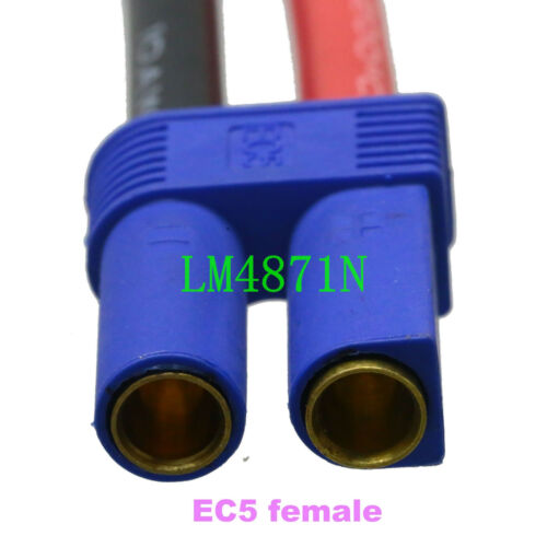 EC5 to AMASS AS150 100A 7.0mm Anti Spark Connector 10AWG 5CM for RC FPV Power