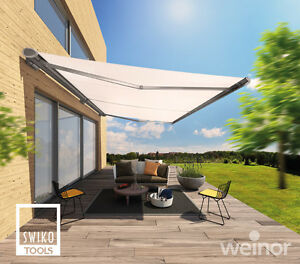 weinor markise semina life led breite 501 550 cm ebay. Black Bedroom Furniture Sets. Home Design Ideas