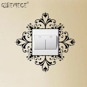 Light Switch Wall Art Decal Stickers Modern Home Decoration Accessories Ebay