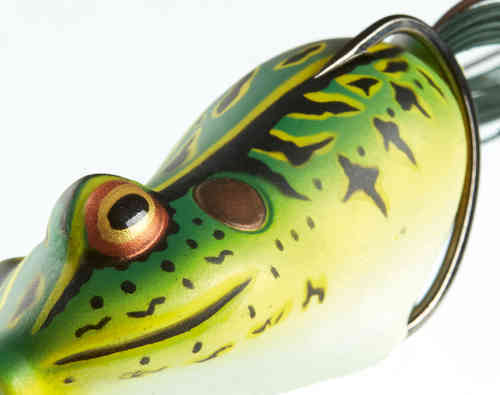 Frosch-Köder Oberflächen-Krautwobbler D-FROG in 4 Farben DAIWA