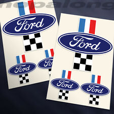 Retro Style 'Ford' Sticker Decals