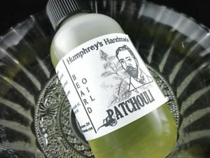 PATCHOULI-Beard-Oil-Cologne-Oil-Hemp-Beard-Conditioner-Natural-Beard-Oil-Hippy