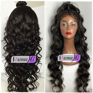 Queen-100-Remy-Human-Hair-Long-Beauty-Body-Wave-Lace-Front-Full-Lace-Wig