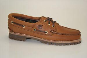 6248cec960 Das Bild wird geladen Timberland-Heritage-Noreen-3-Eye-Boat-Shoes-Mokassins-