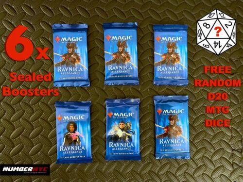Ravnica Allegiance MTG Booster Magic The Gathering Factory Sealed Cards Packs
