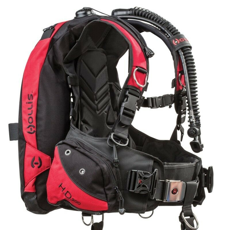 Hollis HD-200 BCD Scuba Dive Buoyancy Compensator MD 208.1151.003