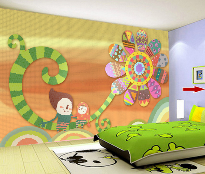 3D SonnenBlaume Kind Malerei 79 Tapete Tapete Tapete Wandgemälde Tapeten Bild Familie DE Summer | Haltbar  |  efc224