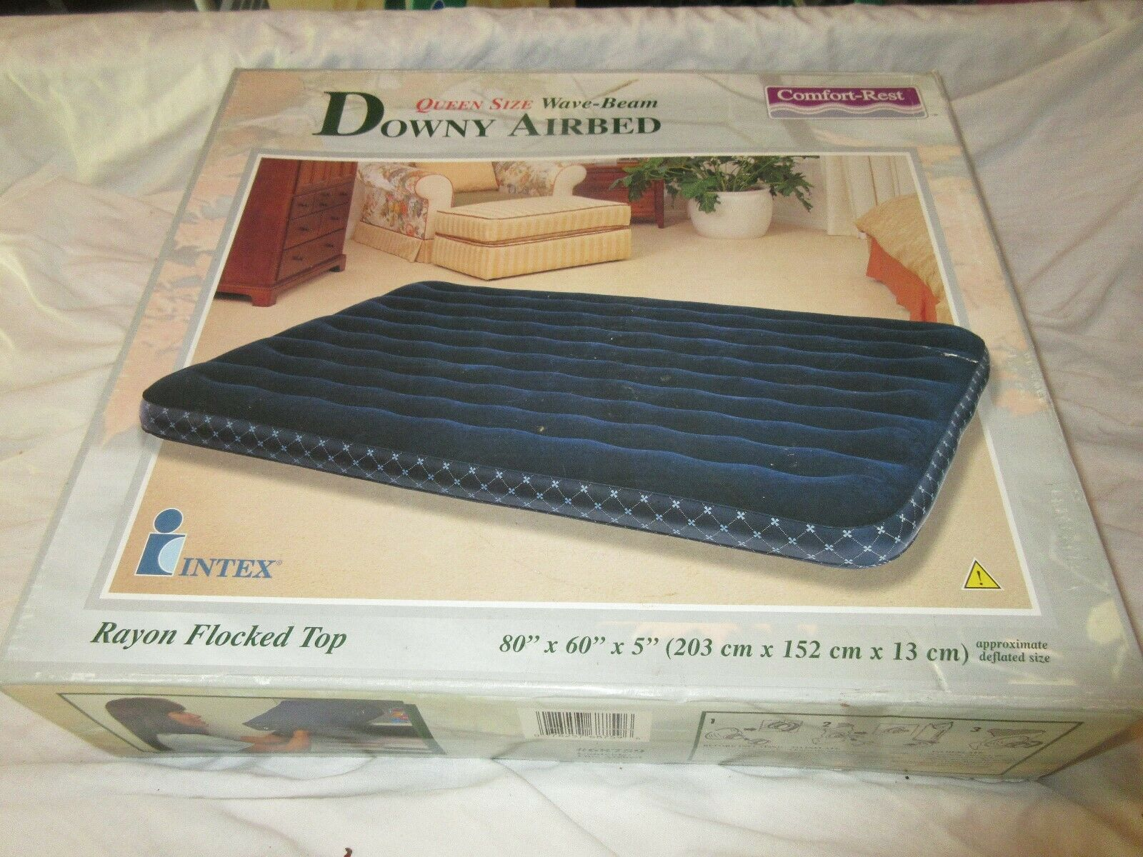 Downy Air Bed , Queen Size , #68759 , Intex , NIB