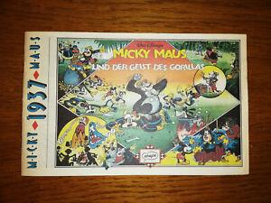 """Sammlerstück! Micky Maus 1937 """"Der Geist des Gorillas"""" Neuauflage Retro-Design"""
